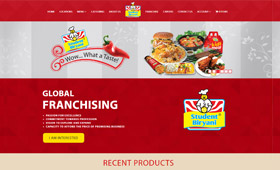 eCommerce for StudentBiryani.com and Moible Application Development